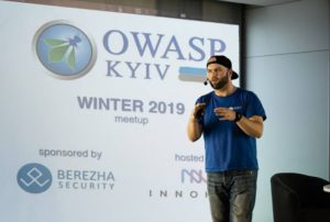 Vlad Styran is a member of OWASP Chapter Committee