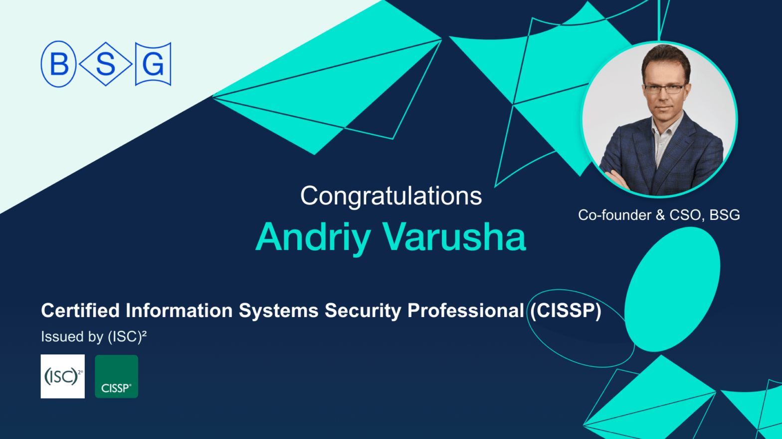 Andriy-Varusha-Certified-Information-Systems-Security-Professional-CISSP