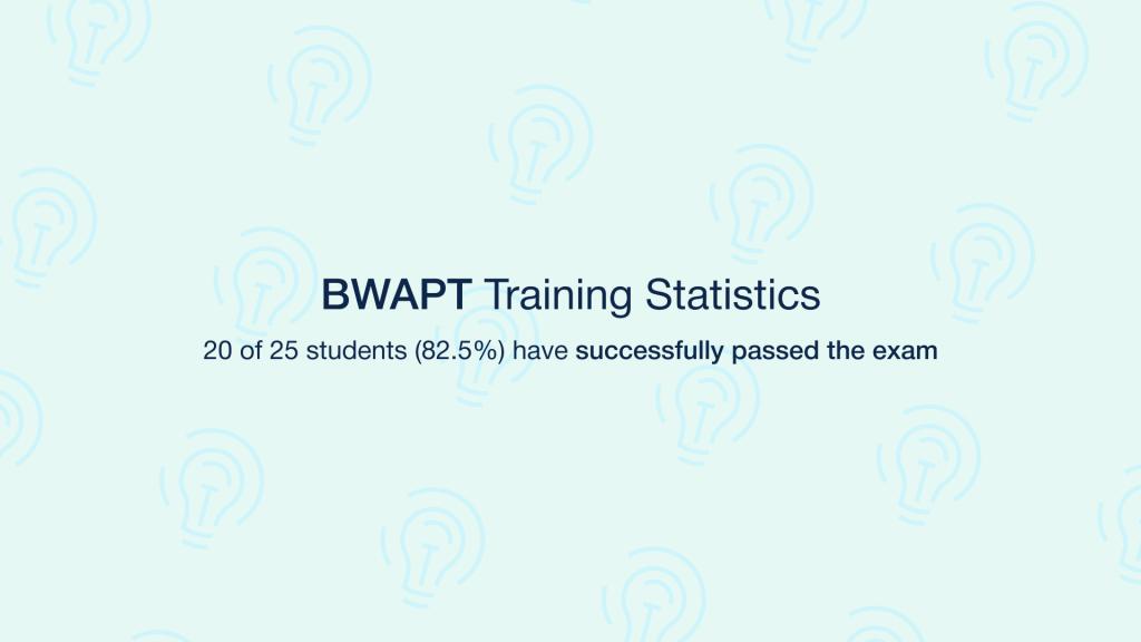BWAPT Training Statistics